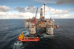 Förderplattform Heidrun/Norwegen