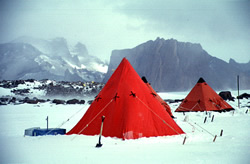 BGR field camp in the Antarctic