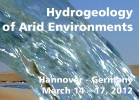 "Logo ""Hydrogeology of Arid Environments 2012"""
