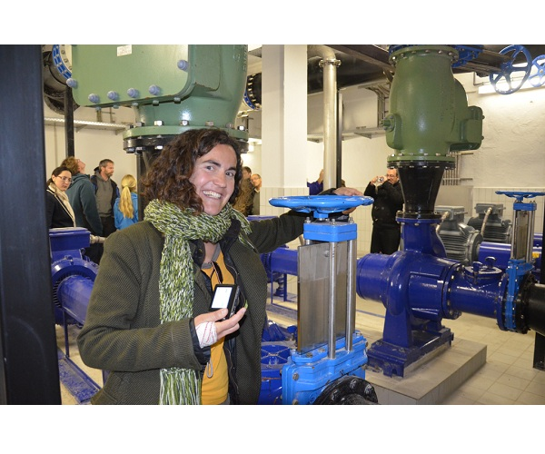 "Conference ""Hydrogeology of Arid Environments"" - excursion to the wastewater treatment plant"