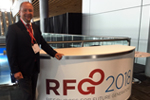 "BGR-Präsident Prof. Dr. Ralph Watzel auf der internationalen Konferenz ""Resources for Future Generations 2018"" in Vancouver."