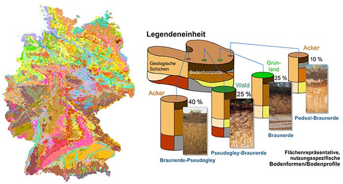 bodenpunkte karte deutschland BGR   Bodenkundliche Karten und Datenbanken