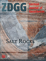 Cover ZDGG 2014 165 1 Salt Rocks