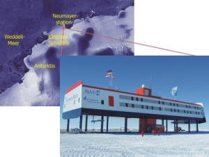 Lage der Neumayer Station