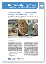 Commodity TopNews 59 (2018): Mapping sustainability standards systems for mining and mineral supply chains