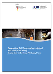 Titelblatt Responsible Gold Sourcing from Artisanal and Small-Scale Mining