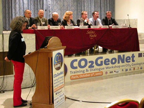 Training and Dialogue Workshop on CO2 Geological Storage