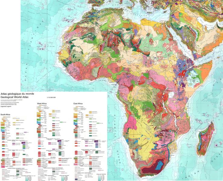 die karte BGR   AEGOS   Die Karte im Maßstab 1:10 Millionen zeigt die  die karte
