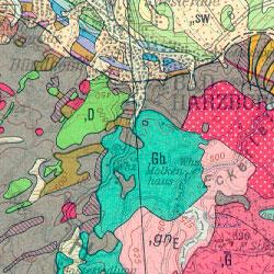 Goslar Karte.Bgr Geologie 1 200 000 Geologische übersichtskarte 1 200 000