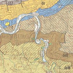 Geologische Karte Ruhrgebiet.Bgr Geologie 1 200 000 Geologische Ubersichtskarte 1