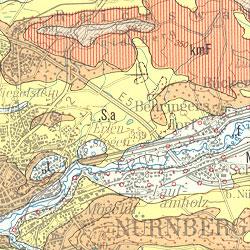 Erlangen Karte Deutschland.Bgr Geologie 1 200 000 Geologische Ubersichtskarte 1