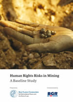 Human Rights Risks in Mining. A Baseline Study (2016). Titelbild