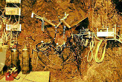 Application of various measuring methods in an underground excavation in granitic rock