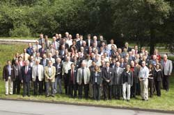 "Participants of the ""6th Conference of the Mechanical Behavior of Salt"", held from May 22 - 25, 2007 in Hannover"