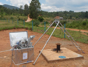 Geophysical borehole logging