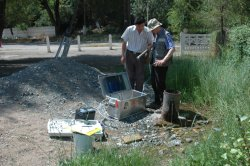 Groundwater sampling together with counterpart