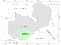 BGR - Products - TC Zambia: Groundwater Resources for Southern Province