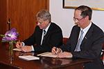 Unterzeichnung Kooperationsabkommen