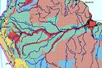 Weltgrundwasserkarte - Ausschnitt