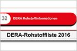 DERA-Rohstoffliste 2016