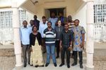 Familie in Kamerun